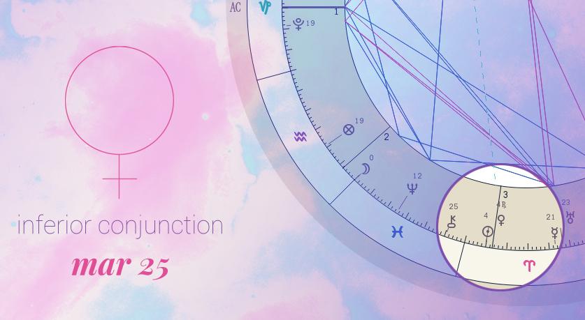 Retracing Venus Mar 25